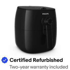 Philips Viva Collection Turbostar Airfryer, Black - HD9621/96
