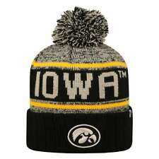 big sale 51290 7fd8c Iowa Hawkeyes Top of the World Acid Rain Knit Beanie - Yellow