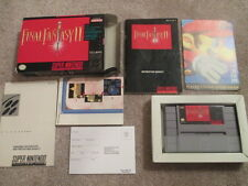 Final Fantasy II 2 (Super Nintendo, SNES) Complete CIB - Collector!