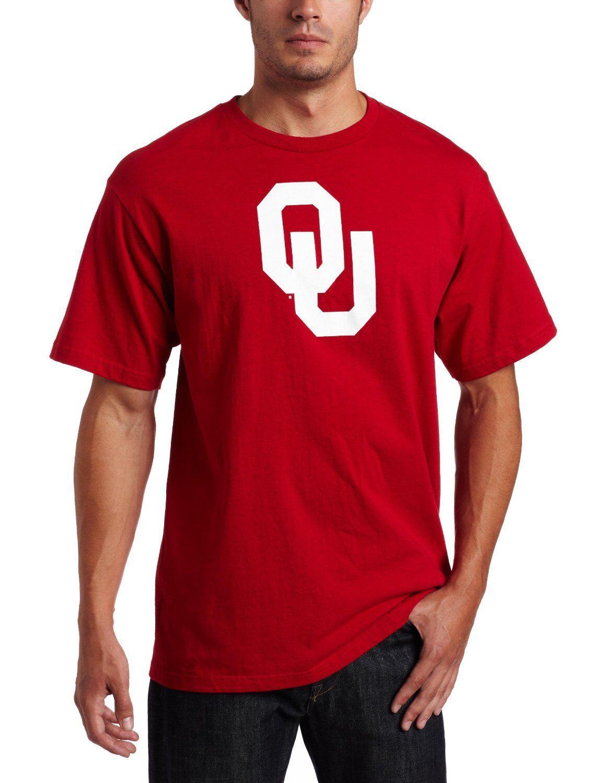 College T-Shirt University OKLAHOMA SOONERS Big Win NCAA Football von von von Majestic 57c301
