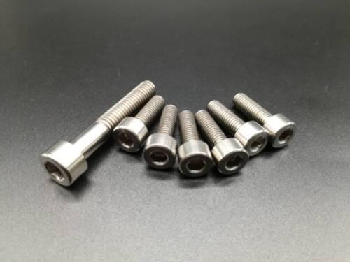 6pcs M5x16 /& 1pcs M6x35mm Titanium Ti Allen Hex Socket Cap Head Bolts Screw