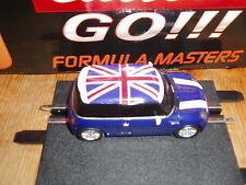 Carrera Go!!! 1 Auto Cooper S British Racing blue 62100 NEU