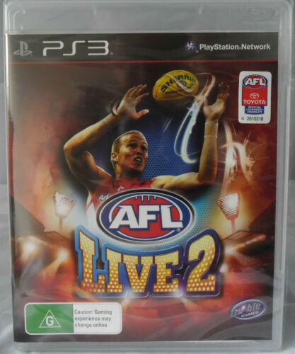1 of 1 - Ps3 AFL Live 2 PS3 Sony Playstation 3