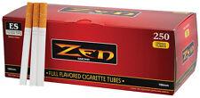1000 (4x250) Zen ® Full Flavor tubes 100mm (casquillos, filterhülsen, zigarettenhülsen)