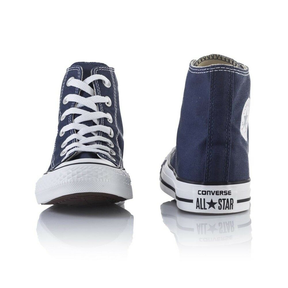 Converse Chuck Taylor Casual All Star Hi Casual Taylor Shoes - Mens Womens Unisex - Navy 5e381d