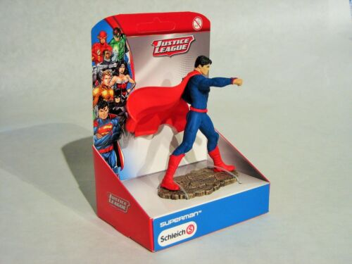 22504 Comic Justice League NEU OVP Superman kämpfend SCHLEICH FIGUR