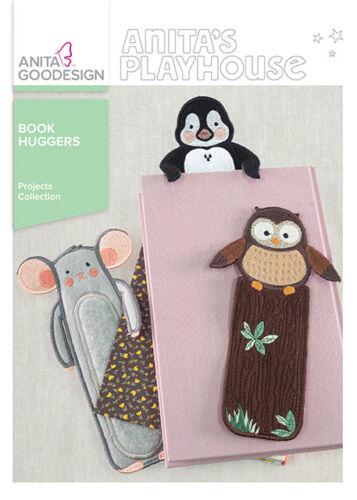 Anita Goodesign Book Huggers Embroidery Machine Designs CD