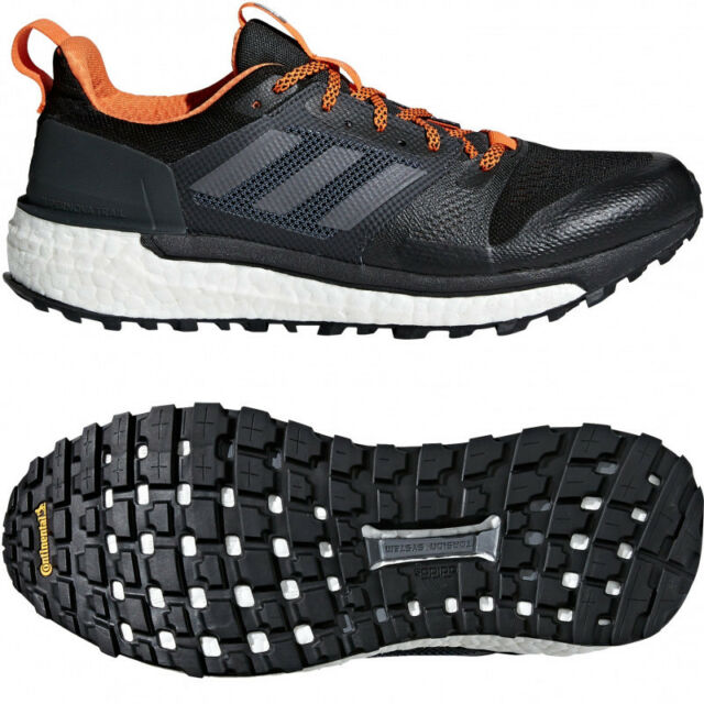 sports shoes 5b32c 378d6 adidas Supernova Boost Mens Trail Running Shoes Black Carbon CG4025 US  Size 8.5 for sale online  eBay