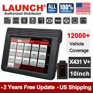 launch x431 car diagnostic tool obd2 scanner bluetooth wifi active test scan pad ebay. Black Bedroom Furniture Sets. Home Design Ideas