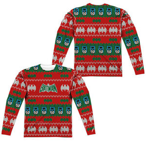image is loading batman faux ugly christmas sweater adult men 039