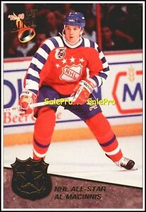 ULTRA-FLEER-1992-AL-MacINNIS-NHL-ALL-STAR-MINT-INSERT-CARD-12-12