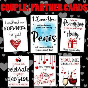 blowjob naughty funny valentines day boyfriend rude rude birthday card