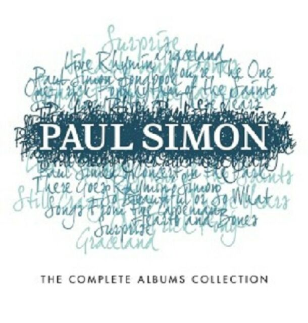 PAUL SIMON - COMPLETE ALBUMS COLLECTION  (15 CD)  INTERNATIONAL POP  NEU