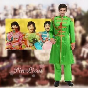 The Beatles Sgt Pepper S Lonely Hearts Club Band John Lennon Costume Cosplay Ebay