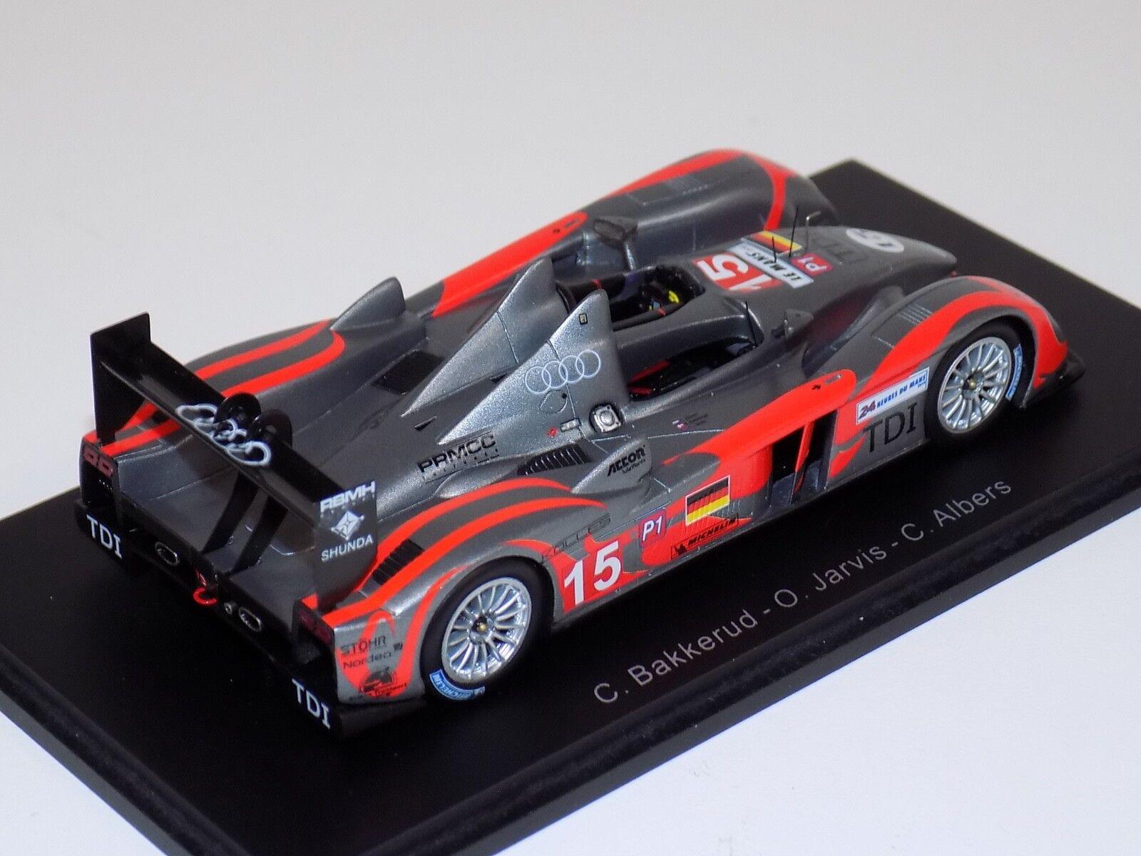 1 43 Spark Audi R10 TDI TDI TDI  Car Hours of LeMans  S2565 c0b868