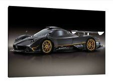 Pagani Zonda R - 30x20 Inch Canvas Art Work - Framed Picture Print Poster