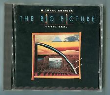 Michael Shrieve David Beal CD THE BIG PICTURE © 1989 USA 8-track 17060-2 Electro