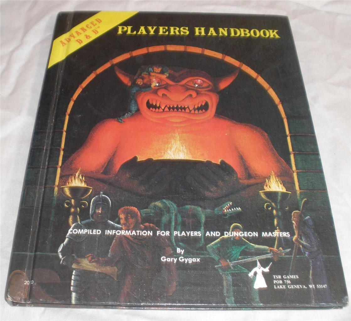 Dungeons & Dragons Players Handbook 2010 nice condition