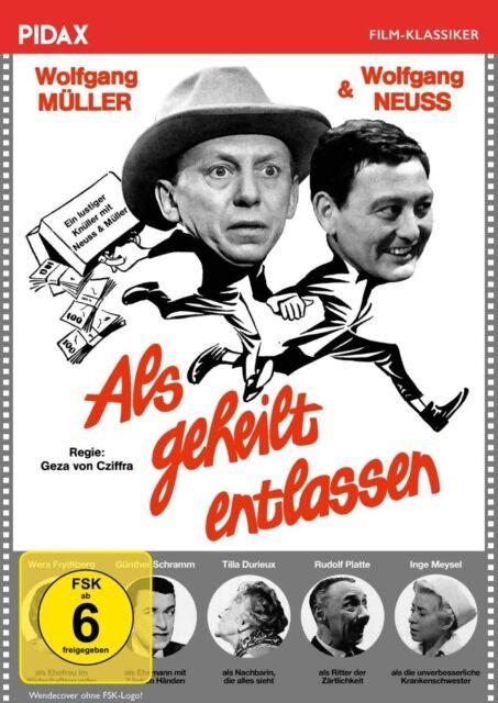 Als geheilt entlassen * DVD Filmperle mit Wolfgang Neuss Wolfgang Müller Pidax