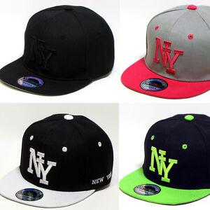 Snapback Kinder Jungen NY NEW YORK Basecap Cap Kappe Baseball Mütze ... 7b3387f423