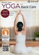 YOGA FOR BACK CARE (DVD) Rodney Yee 05-52888 GAIAM workouts healthy strong NEW