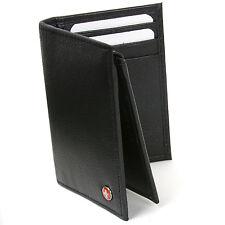 Alpine Swiss L Shape Trifold Mens Leather Wallet RFID Safe Secure Billfold Cards