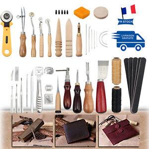 37PCS-Outils-de-bricolage-en-cuir-DIY-Couture-Sculpture-Kit-De-Travail