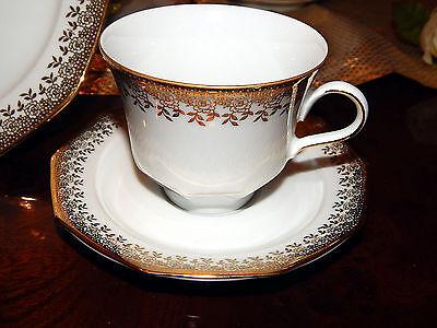 Kaffeegedeck Kaffeetasse Untertasse Winterling Marktleuthen Sandra Goldrose  top