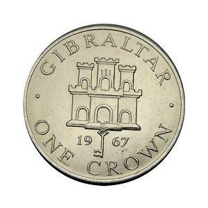 elf Gibraltar 1 Crown 1967 Castle  Key