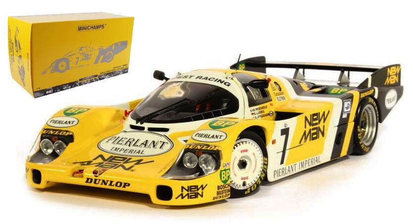 Minichamps PORSCHE 956L   7 homme  nouveau  Vainqueur du Mans 1984-échelle 1 18