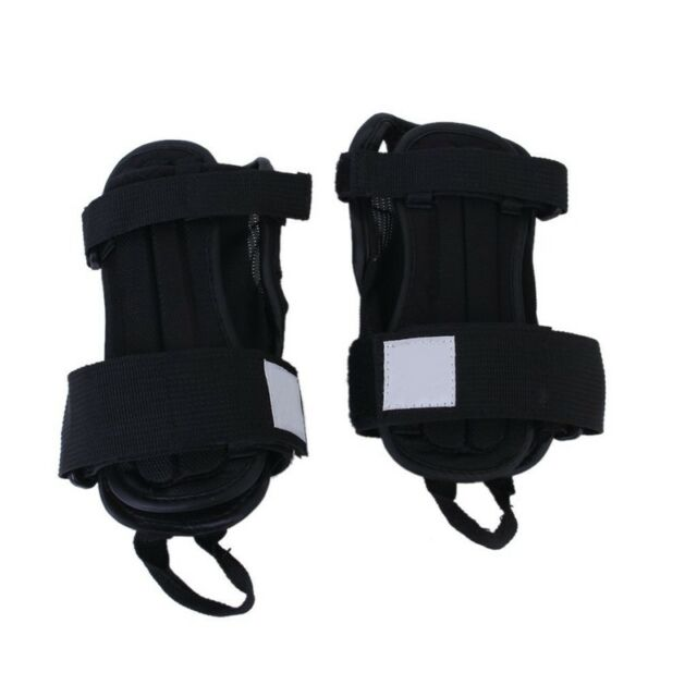 1 Pair of Skis Snowboard Protectors Glove Sports Wrist Brace Support Protec P6Q4
