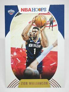 Panini Hoops 2020-21 N28 card NBA #163 Zion Williamson - New Orleans Pelicans