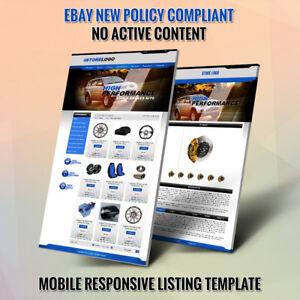 Detalles de Única Tienda eBay plantillas y listado subasta plantilla HTML Instalación Gratis ver título original