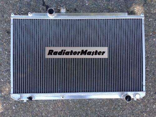 ALUMINUM RADIATOR FOR 1996-2000 TOYOTA MARK II //Chaser  2ROW 2.5L 1997 1998 1999