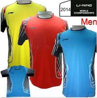 2014 Top Lin Dan Badminton Championships Li-ning Team Badminton Men T-shirt