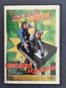 DVD-REBOBINE-POR-FAVOR-Jack-Black-Mos-Def-Danny-Glover-Mia-Farrow-MICHEL-GONDRY