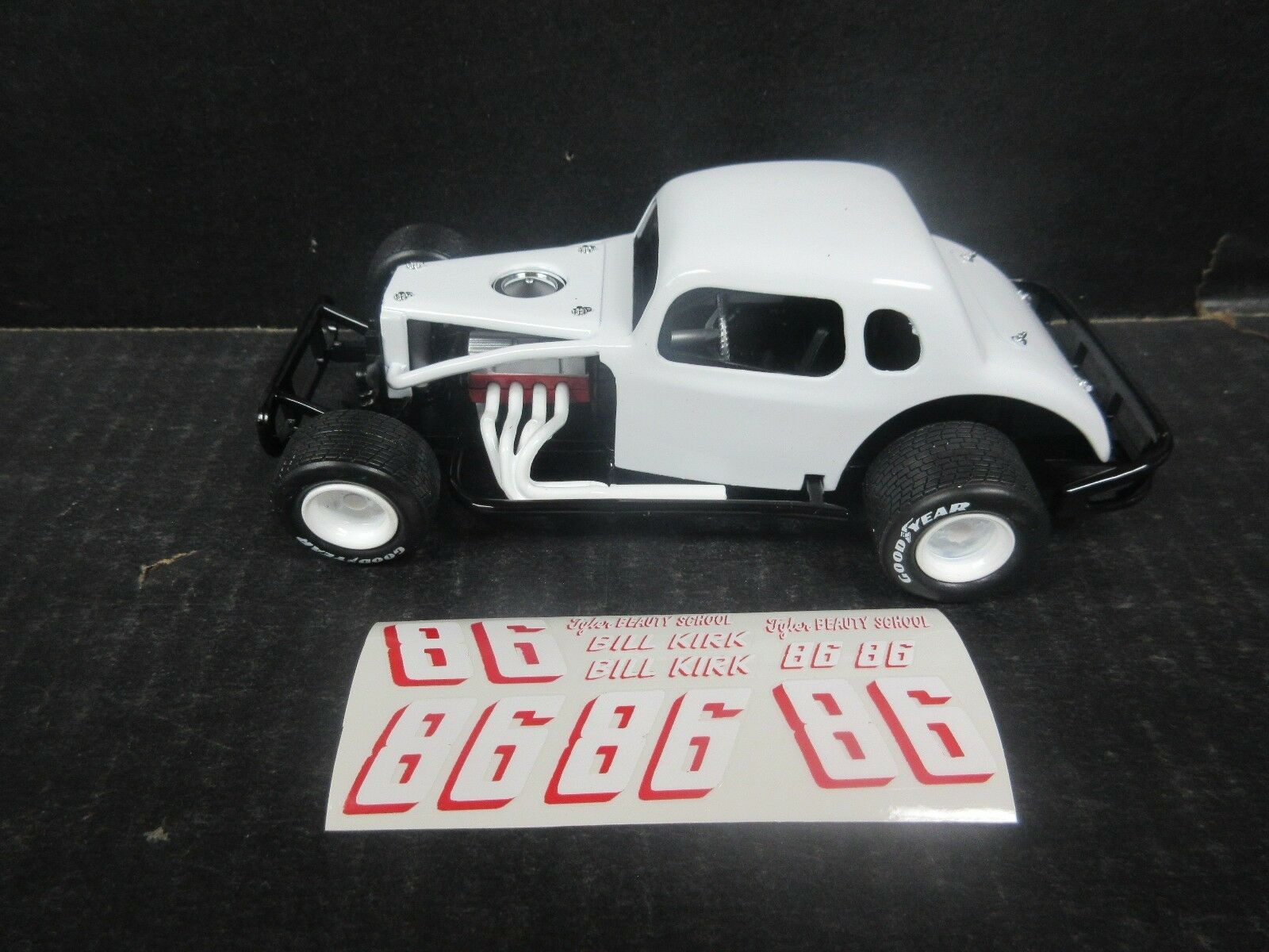 Kirk Coupe Modified 1 25th Scale Die Cast Donor Kit Bill Ndselh5026