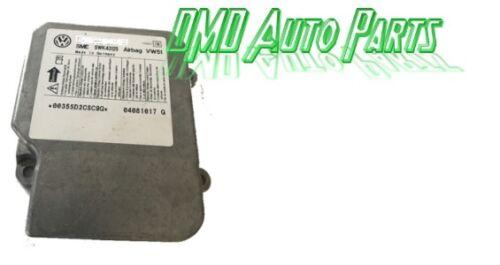 VW,AUDI,SKODA,SEAT AIRBAG MODULE//SENSOR SRS 1C0909605 A INDEX 04