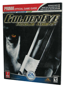 Golden-Eye-Rogue-Agent-Official-Strategy-Guide-Book
