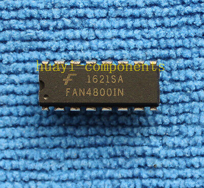 1pcs FAN4800IN Low Start-Up Current PFC//PWM Controller Combos DIP-16
