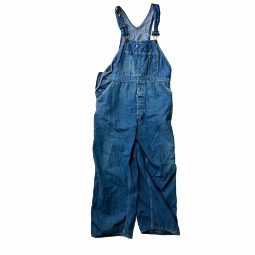 Vintage 1950s Dickies Workwear Overalls Dungarees