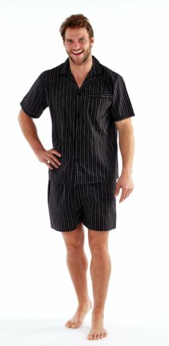 Mens SHORTS AND Top Woven poly//Cotton YARN DYED PYJAMA Strip or check SIZES M-XX
