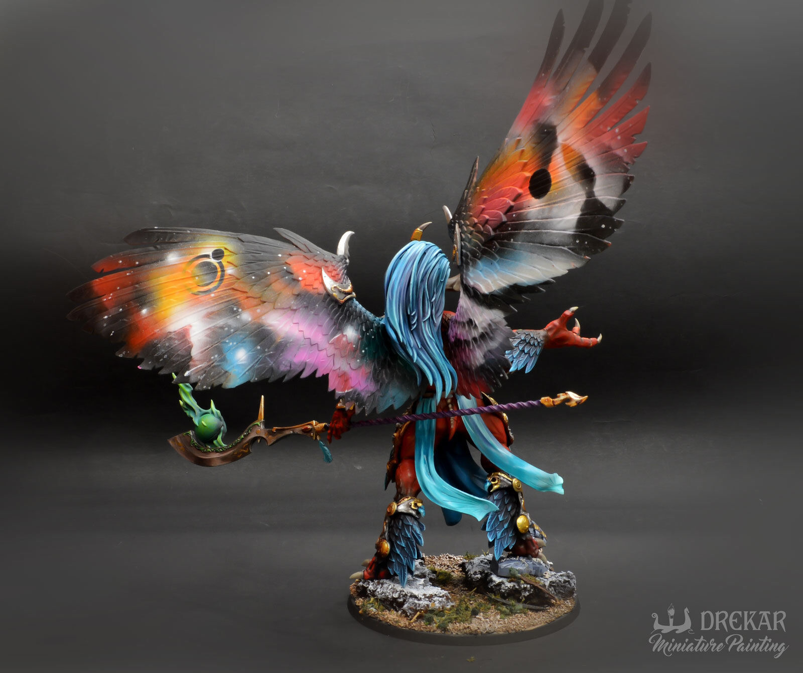 Magnus the rot Primarch warhammer warhammer warhammer 40K  COMMISSION  intergallactic painting 543106
