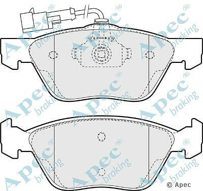 Brake Pads - fits Alfa 156 GTV Spider APEC PAD937 Front Front
