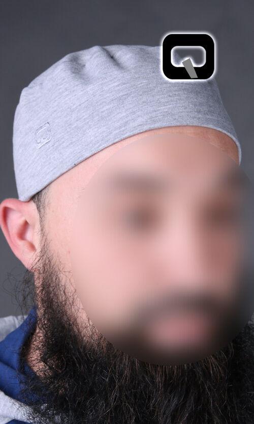 1 x islamique prière Casquette de qabail