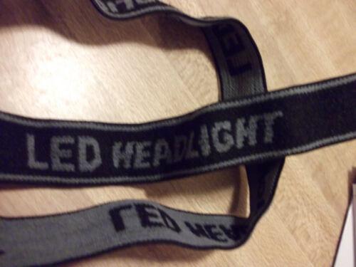 Headlight  LED Flashlight Focus Strap SMALL Head Lamp Adjustable For Camping Hot