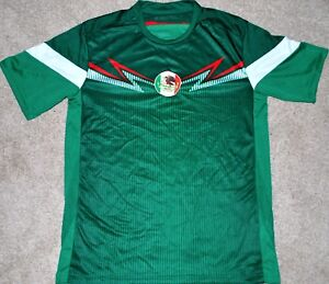 MEXICO-MEN-039-S-SOCCER-FUTBOL-JERSEY-FIFA-WORLD-CUP-TRIKOT-NEW-W-TAGS-S-M-OR-L