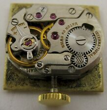 Lady IWC 431 17 jewels watch movement & gilt dial for part ...