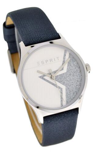 Esprit Damenuhr ES1L034L0255 Sparkle Star Silber Black UVP:99,90€ NEU Orig