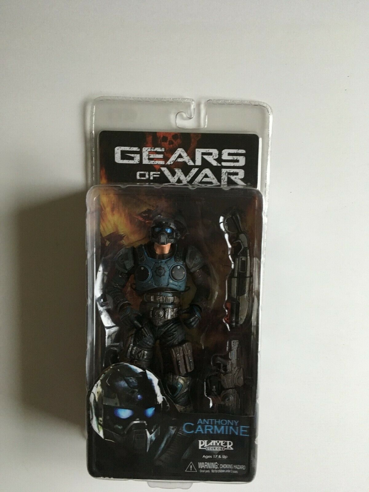 Figurine Anthony Carmine RARE NECA Gears of War neuf